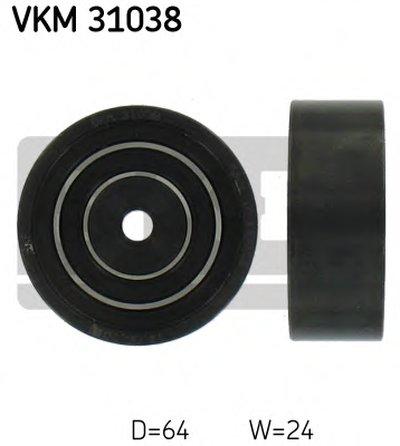 Ролик Натяжной Навесного Оборудования SKF VKM31038 для авто AUDI, SKODA, VW с доставкой