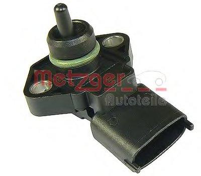 Датчик, давление наддува; Датчик, давление наддува; Датчик, давление во впускном газопроводе genuine METZGER купить