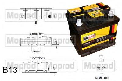 Стартерная аккумуляторная батарея Moprod QUINTON HAZELL купить