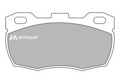 Комплект тормозных колодок, дисковый тормоз MOTAQUIP купить