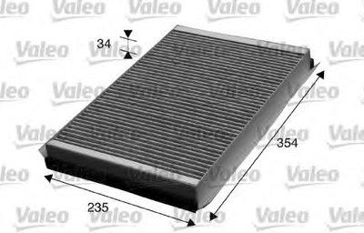 715602 VALEO Фильтр, воздух во внутренном пространстве