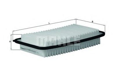 LX1692 KNECHT Воздушный фильтр