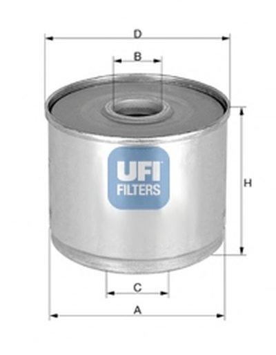 2436001 UFI Топливный фильтр