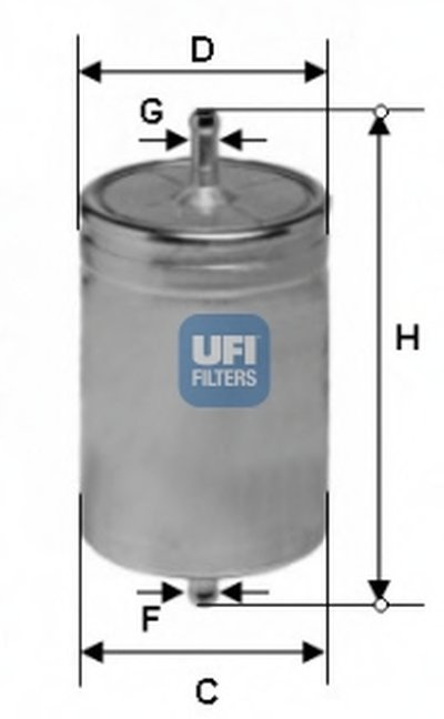 3161100 UFI Топливный фильтр
