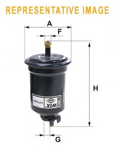 WF8173 WIX FILTERS Топливный фильтр