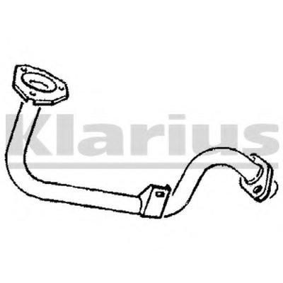 Труба выхлопного газа KLARIUS купить