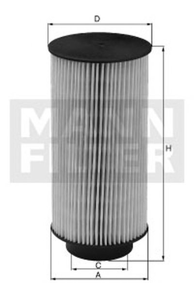 PU7004Z MANN-FILTER Топливный фильтр