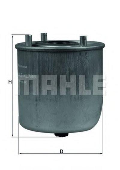 KL780 KNECHT Топливный фильтр