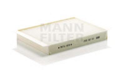 CU25002 MANN-FILTER Фильтр, воздух во внутренном пространстве