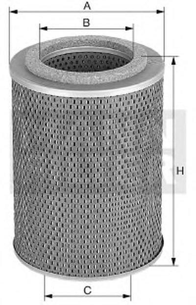 H12105X MANN-FILTER Масляный фильтр; Гидрофильтр, автоматическая коробка передач; Фильтр, Гидравлическая система привода рабочего оборудован