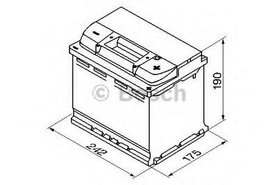 Стартерная аккумуляторная батарея; Стартерная аккумуляторная батарея S5 BOSCH купить