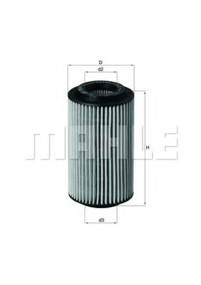OX1537D2 KNECHT Масляный фильтр