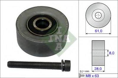 Ролик Ремня Грм Astra H 1.61.8 04- Z16Xerz18Xer INA 532047210 для авто ALFA ROMEO, CHEVROLET, CHEVROLET (SGM), FIAT, OPEL с доставкой