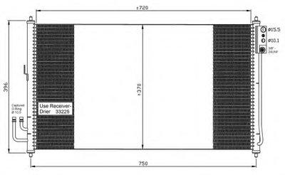Конденсатор, кондиционер NRF 35878 для авто NISSAN с доставкой