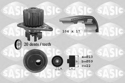 Водяной насос + комплект зубчатого ремня SASIC купить