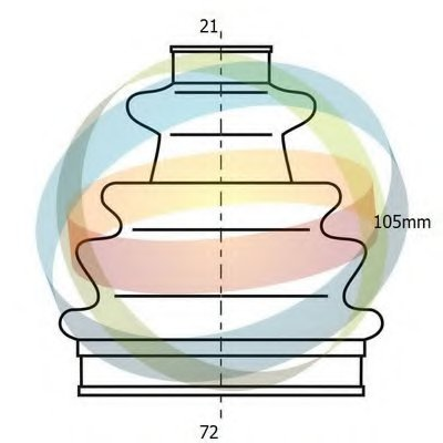 Комплект пылника, приводной вал ODM-MULTIPARTS купить