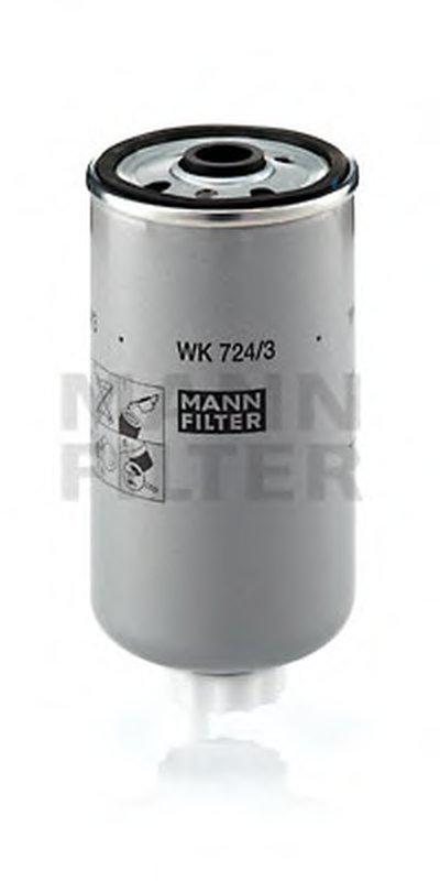WK7243 MANN-FILTER Топливный фильтр