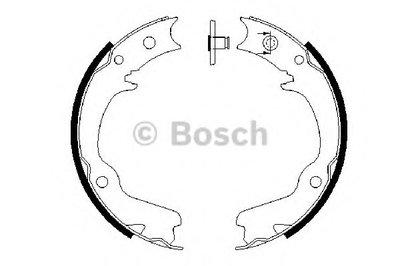 BOSCH 0986487681 Тормозные колодки Subaru Forester -07
