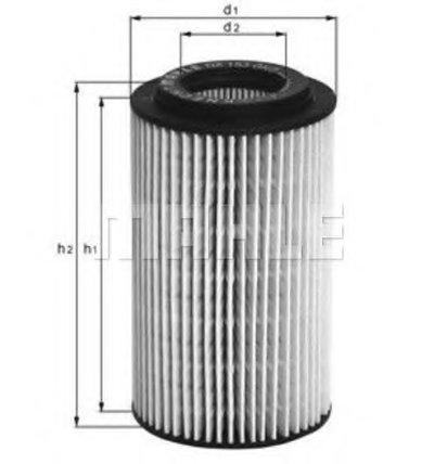 OX153D1 KNECHT Масляный фильтр