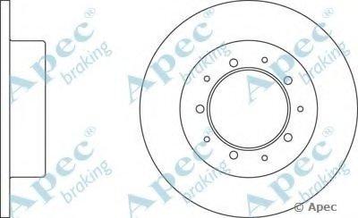 Тормозной диск APEC braking купить
