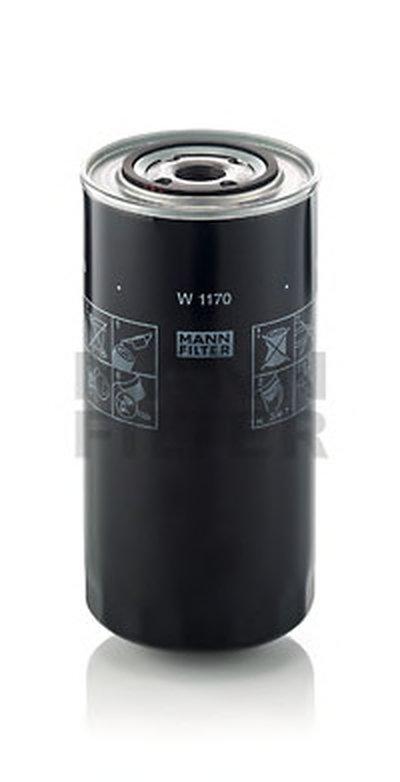 W1170 MANN-FILTER Масляный фильтр; Гидрофильтр, рулевое управление