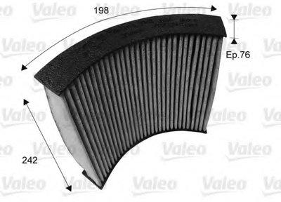 Фильтр, воздух во внутренном пространстве CLIMFILTER PROTECT VALEO купить
