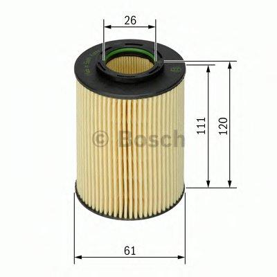 F026407062 BOSCH Масляный фильтр