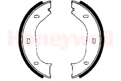 Комплект тормозных колодок, стояночная тормозная система JURID купить