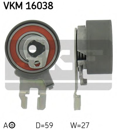 """Ролик ременя грм натяжний VOLVO S40/S60/S80/XC90/XC60 """"2,0/2,5L """"98>>"""