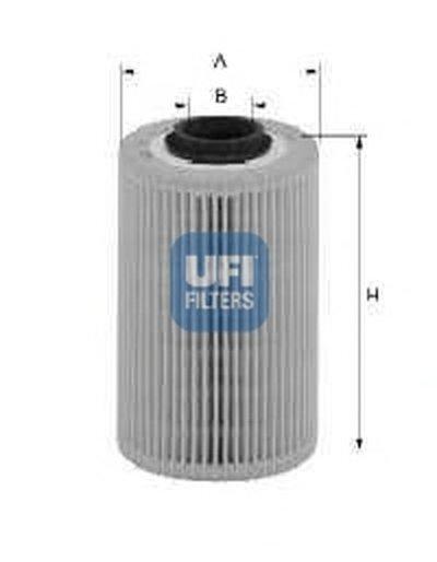 2601800 UFI Топливный фильтр
