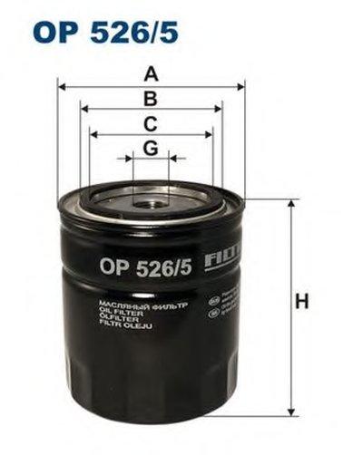 OP5265 FILTRON Масляный фильтр