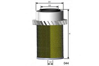 R729 MISFAT Воздушный фильтр