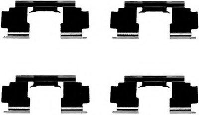 Комплектующие, колодки дискового тормоза MINTEX купить