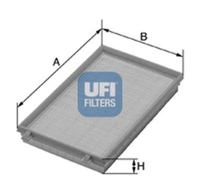 3024800 UFI Воздушный фильтр