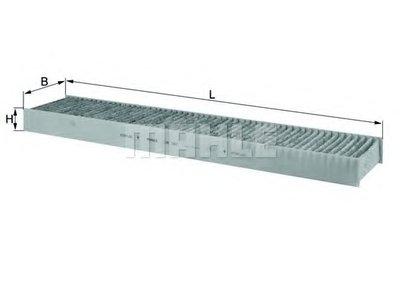 LAK242 KNECHT Фильтр, воздух во внутренном пространстве -1
