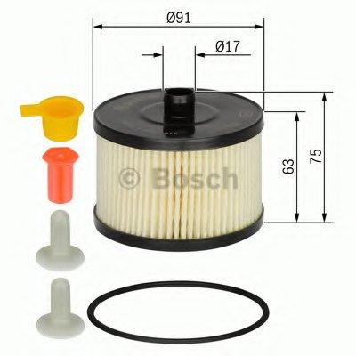 1457431723 BOSCH Топливный фильтр -1
