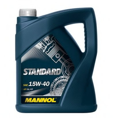 Моторное масло; Моторное масло MANNOL Standard 15W-40 SCT Germany купить