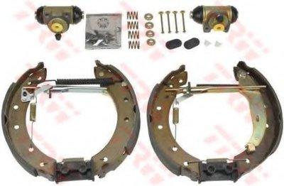 Фотография Комплект тормозных колодок TRW GSK1058-1