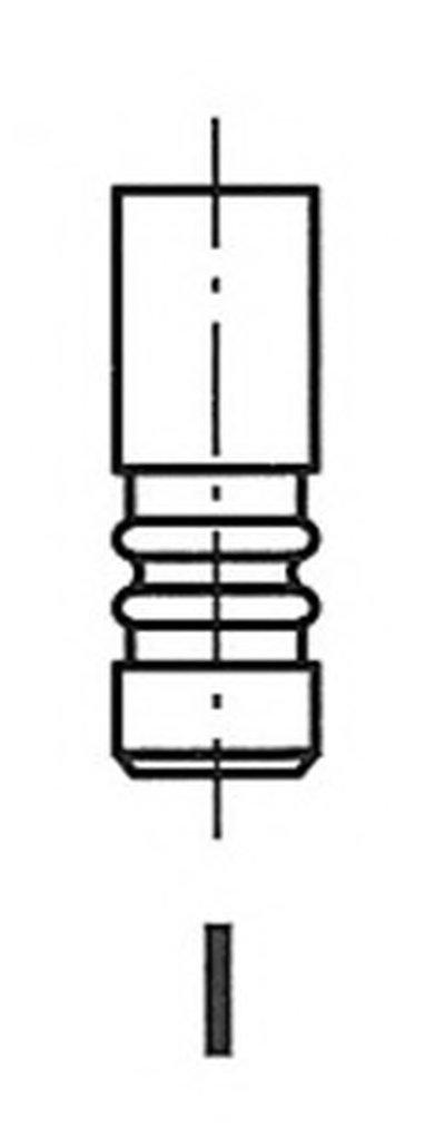 Клапан двигуна FRECCIA R6509RCR