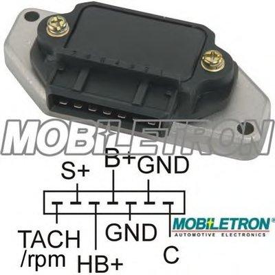 Коммутатор Системы Зажигания 0227100120Bm320Zm03 MOBILETRON IGH004CH для авто LADA, VOLVO с доставкой