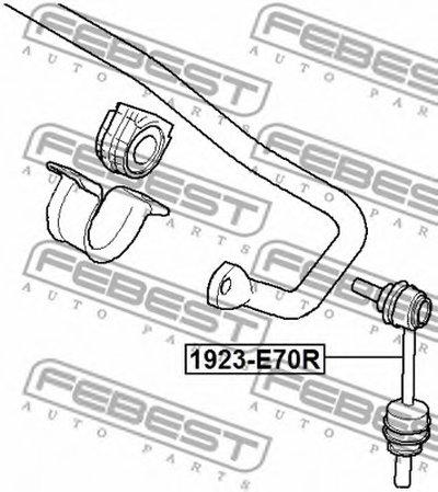 1923E70R FEBEST Тяга / стойка, стабилизатор -1