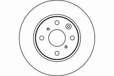 Тормозной диск PRO TEXTAR купить