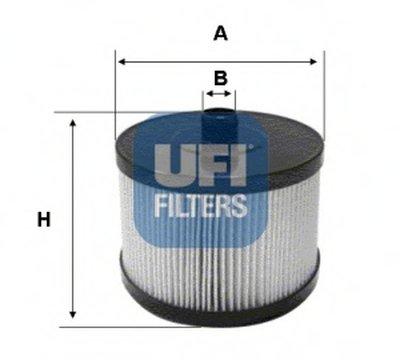 2602200 UFI Топливный фильтр