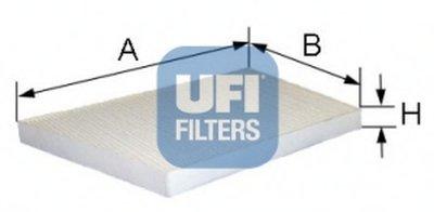 5309400 UFI Фильтр, воздух во внутренном пространстве