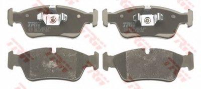 GDB1625 TRW Комплект тормозных колодок, дисковый тормоз-1