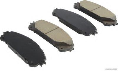 Колодки тормозные дисковые передние LEXUS, TOYOTA (пр-во Jakoparts)