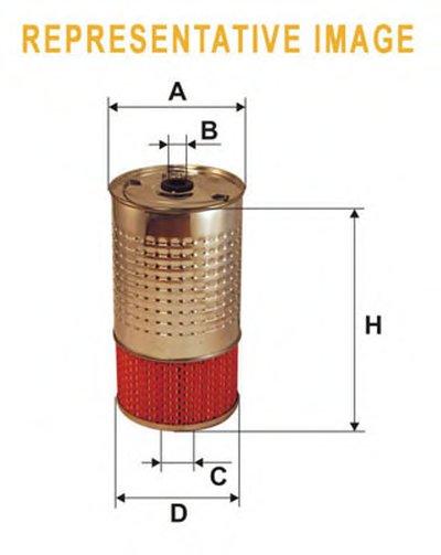 WL7003 WIX FILTERS Масляный фильтр
