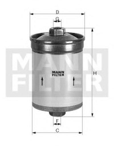 Топливный фильтр UNICO FILTER купить