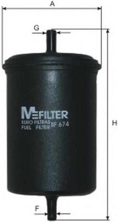 BF674 MFILTER Топливный фильтр