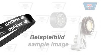 Поликлиновой ременный комплект Optibelt-RBK KIT OPTIBELT купить